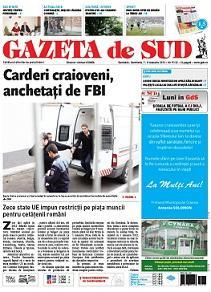 GAZETA de SUD | Cotidianul oltenilor de pretutindeni  |Gazeta De Sud
